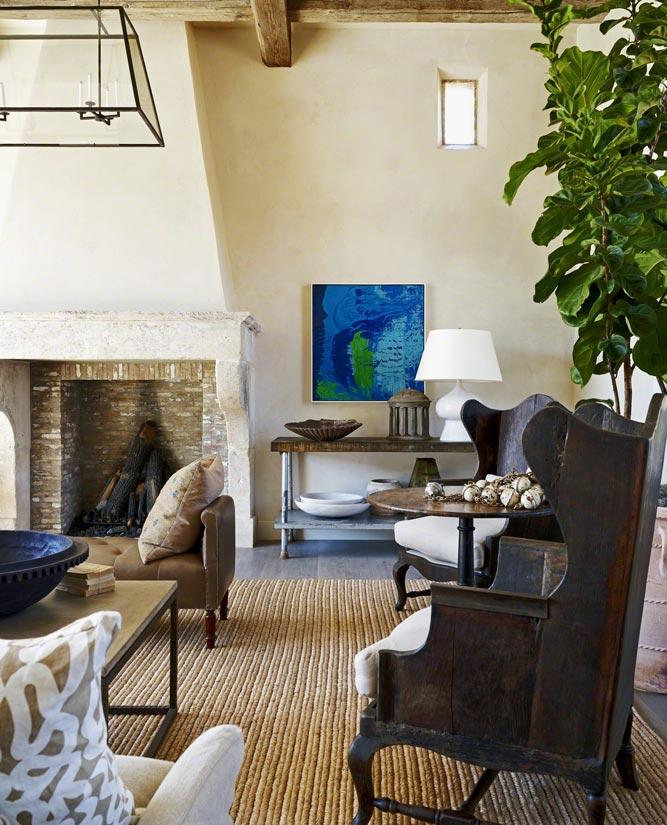 Rustic Eclectic Farmhouse Interior Design ǀ David Michael