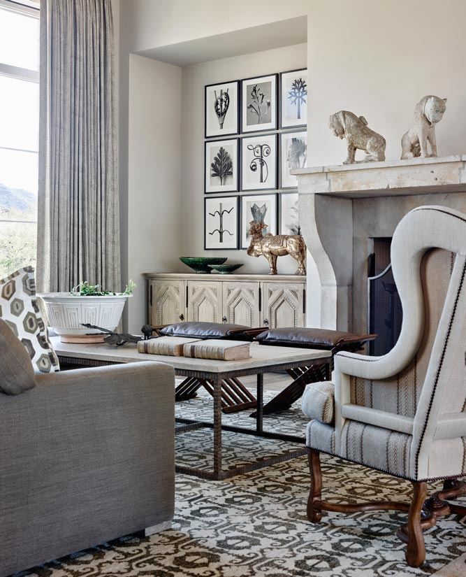 Silverleaf Rustic Eclectic House Interior Design ǀ David Michael Miller