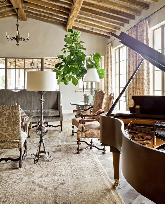 Rural French Estate Interior Design ǀ David Michael Miller