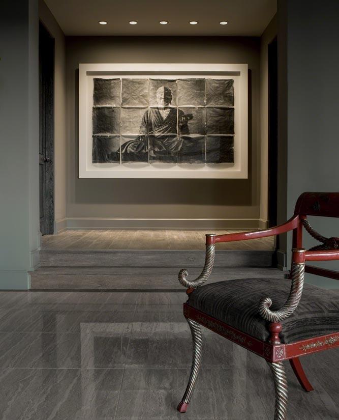 Hillside Home Eclectic Interior Design ǀ David Michael Miller