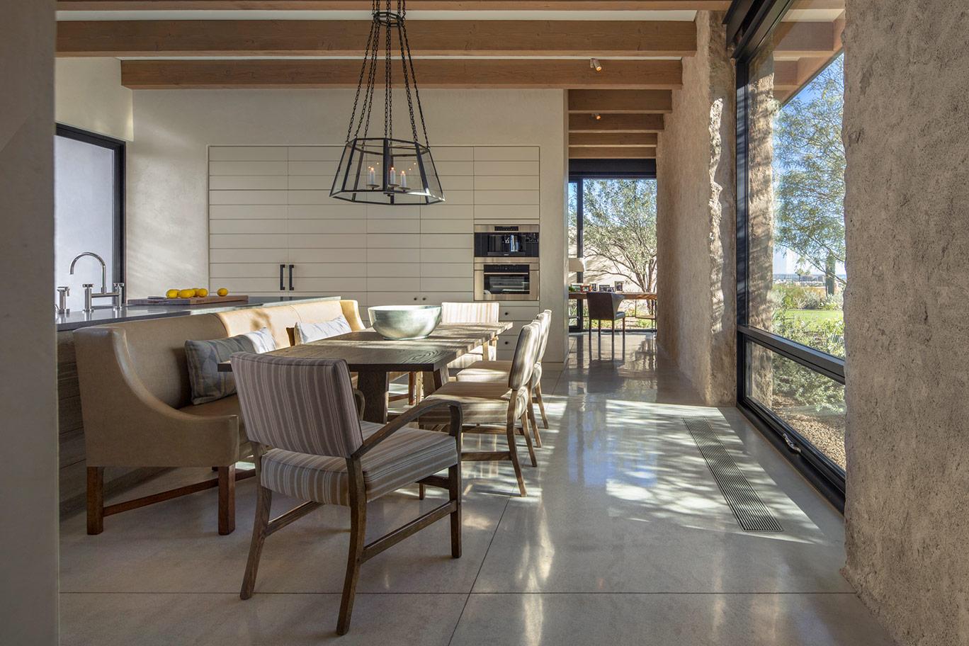 Traditional Dining Room Interior Design ǀ David Michael Miller