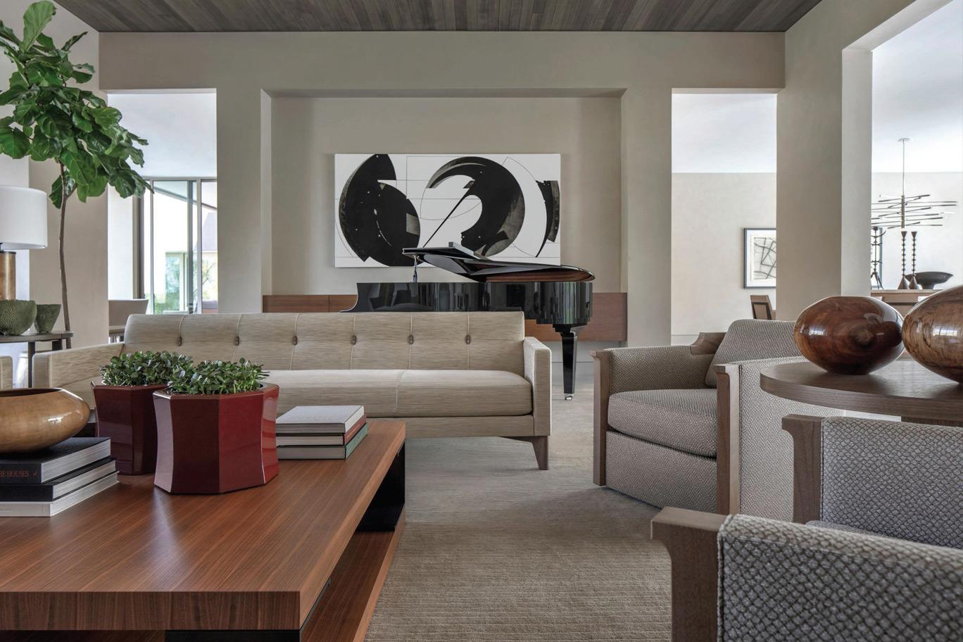 Contemporary Living Interior Design In Phoenix ǀ David Michael Miller